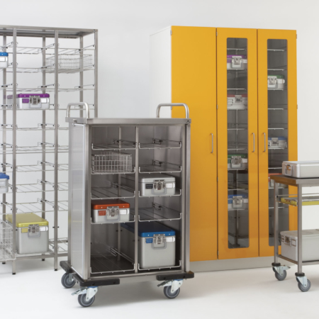 Lagerung, Transport und Bereitstellung von Sterilgut